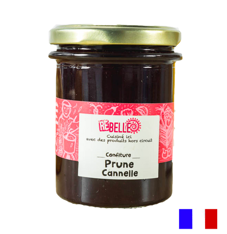 Confiture Re-Belle - Prune Canelle