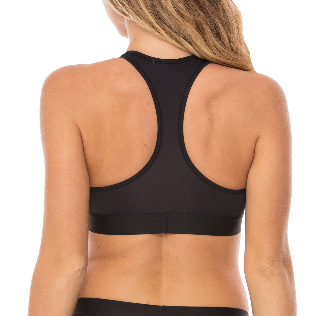 Pitch Black Racer Back PERFORMANCE Bra