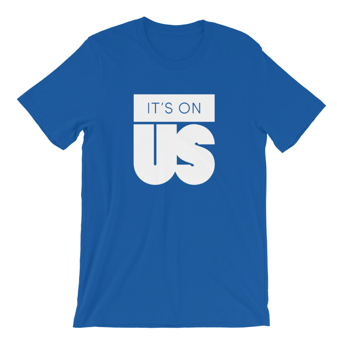 It's On Us Logo T-shirt (Available in Blue, White and Black)