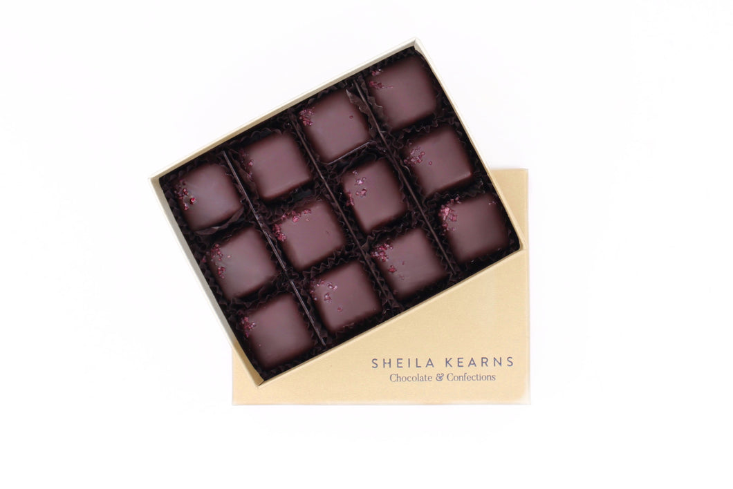 Cabernet Sea Salt Caramels Dark