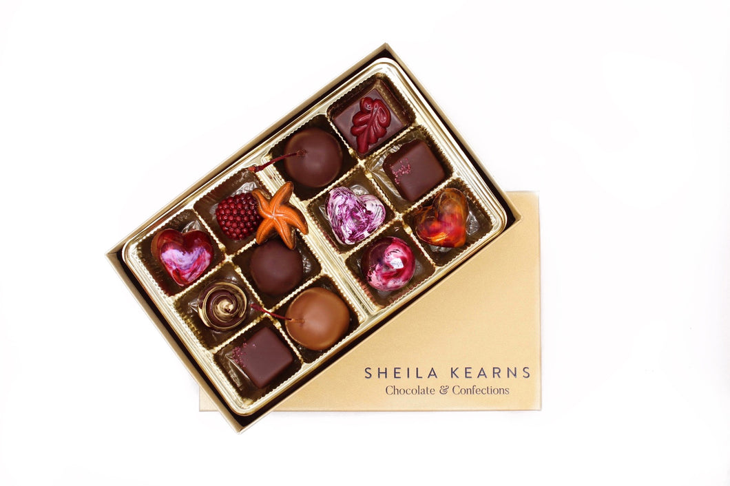 Hand Painted Luxury Artisan Chocolates