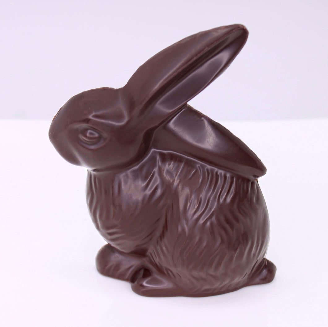 CALL SHOP AVAILABLE FOR CURBSIDE  PICKUP ONLY -Shy Bunny - Two Dimensional Dark Chocolate
