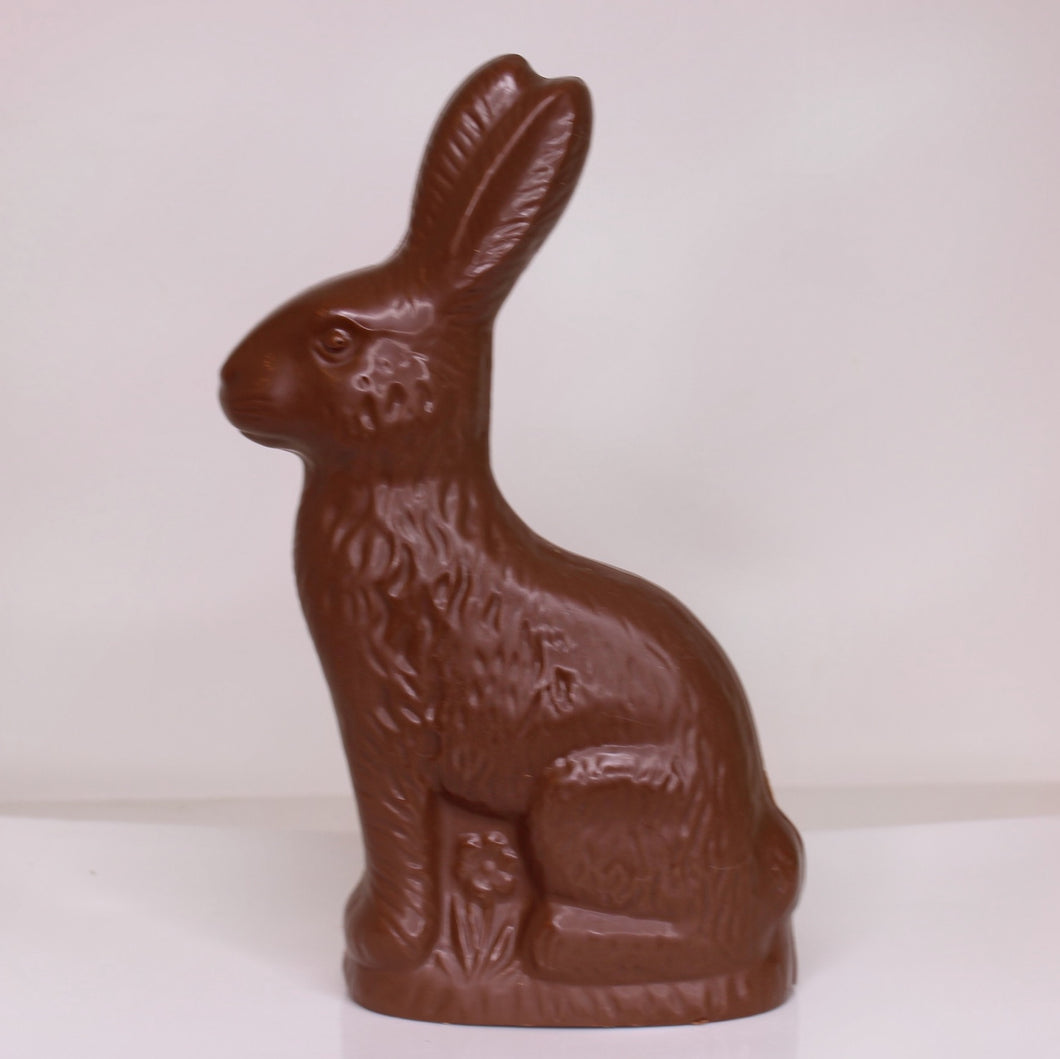 AVAILABLE FOR PICKUP-Big Daddy Bunny - Three Dimensional Dark or Milk Chocolate Standing Bunny
