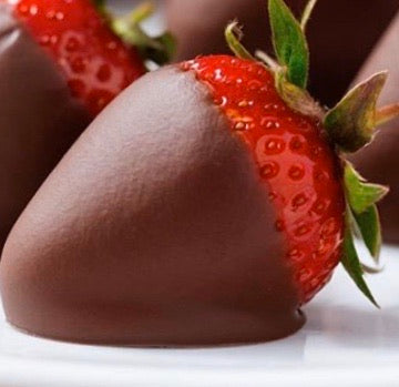 Single Chocolate Dipped Strawberry