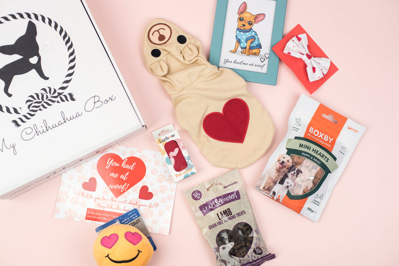 The Valentine's Box - You had me at woof!