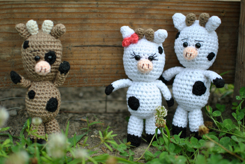 Temple the Little Cow ~ Amigurumi To Go | Crochet cow, Cow pattern ... | 686x1024