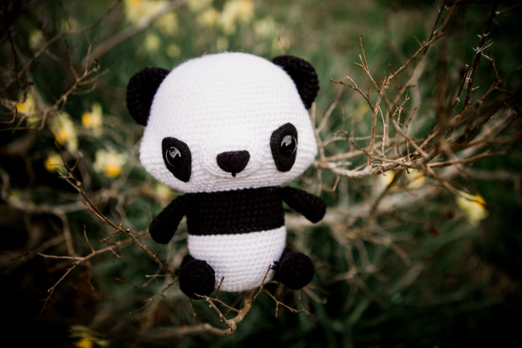 Crochet Pattern - My Little Panda Bear | Amigurumi osito ... | 683x1024