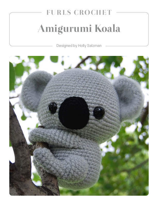 Amigurumi koala with heart pattern | Crochet toys patterns ... | 792x612