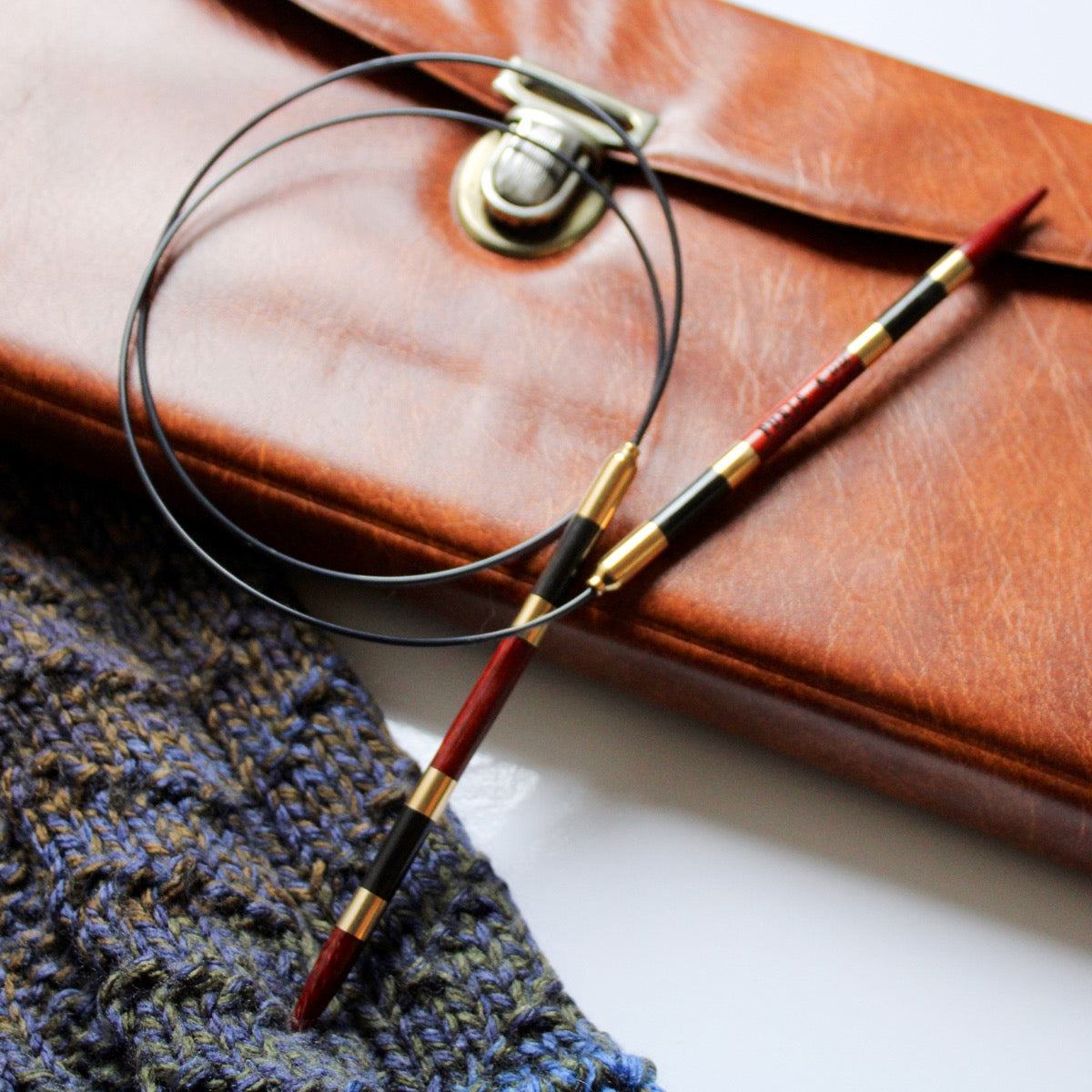 blue odyssey crochet hook from furls