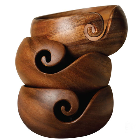 Great wooden yarn bowl from Furls