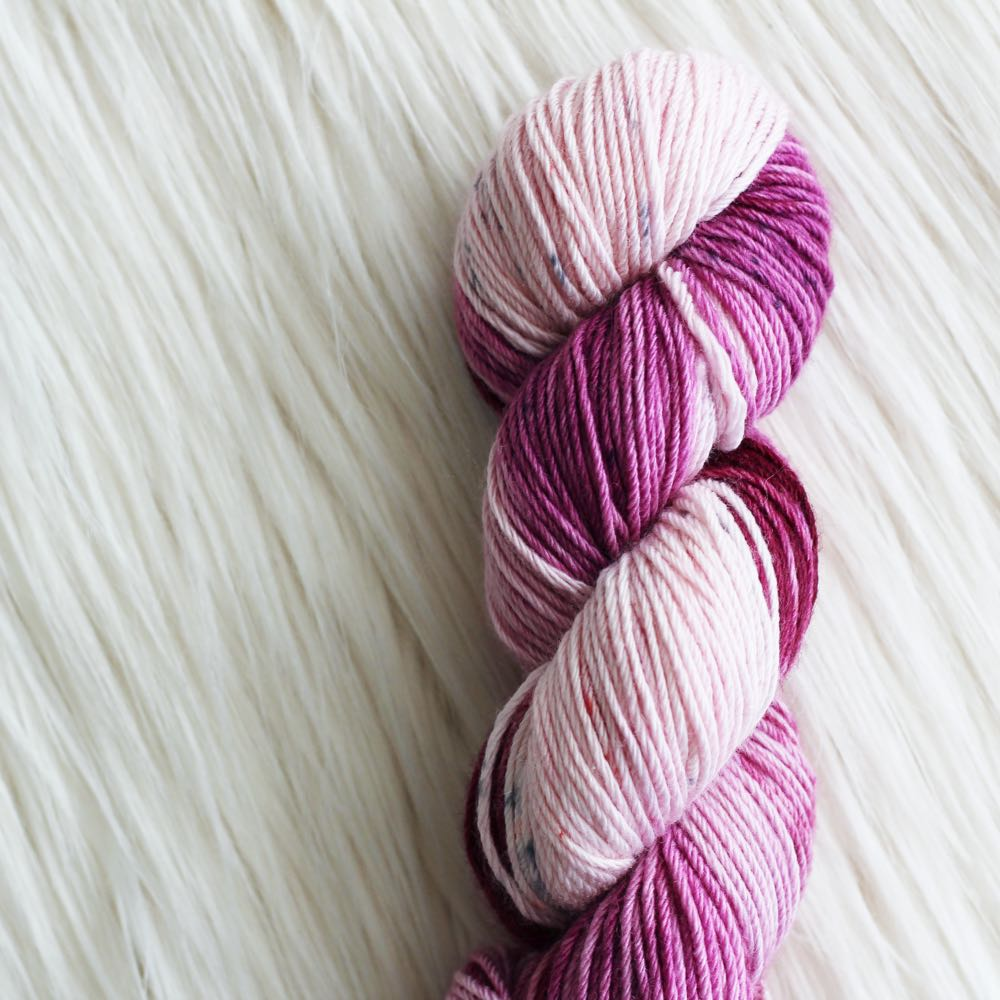 special crochet yarn better for crocheters, hand dyed