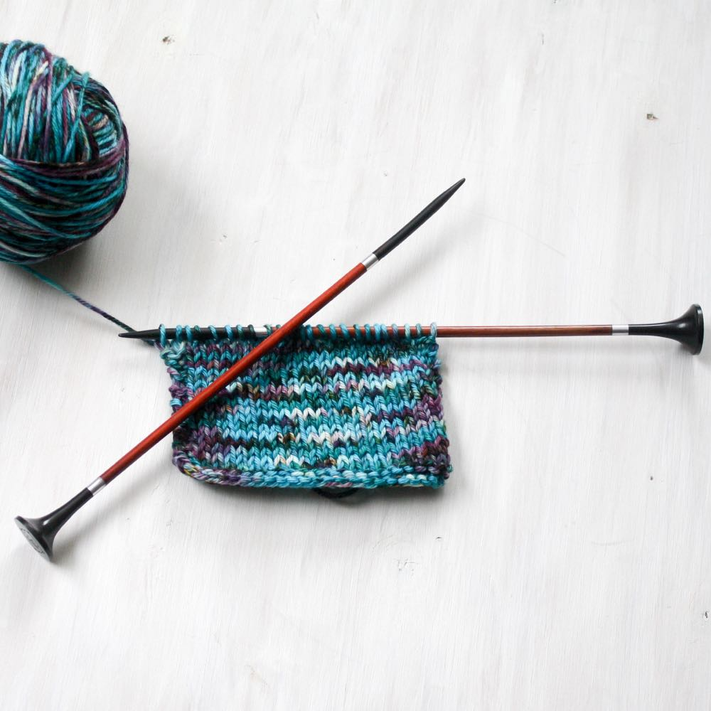 lightweight single point knitting needles