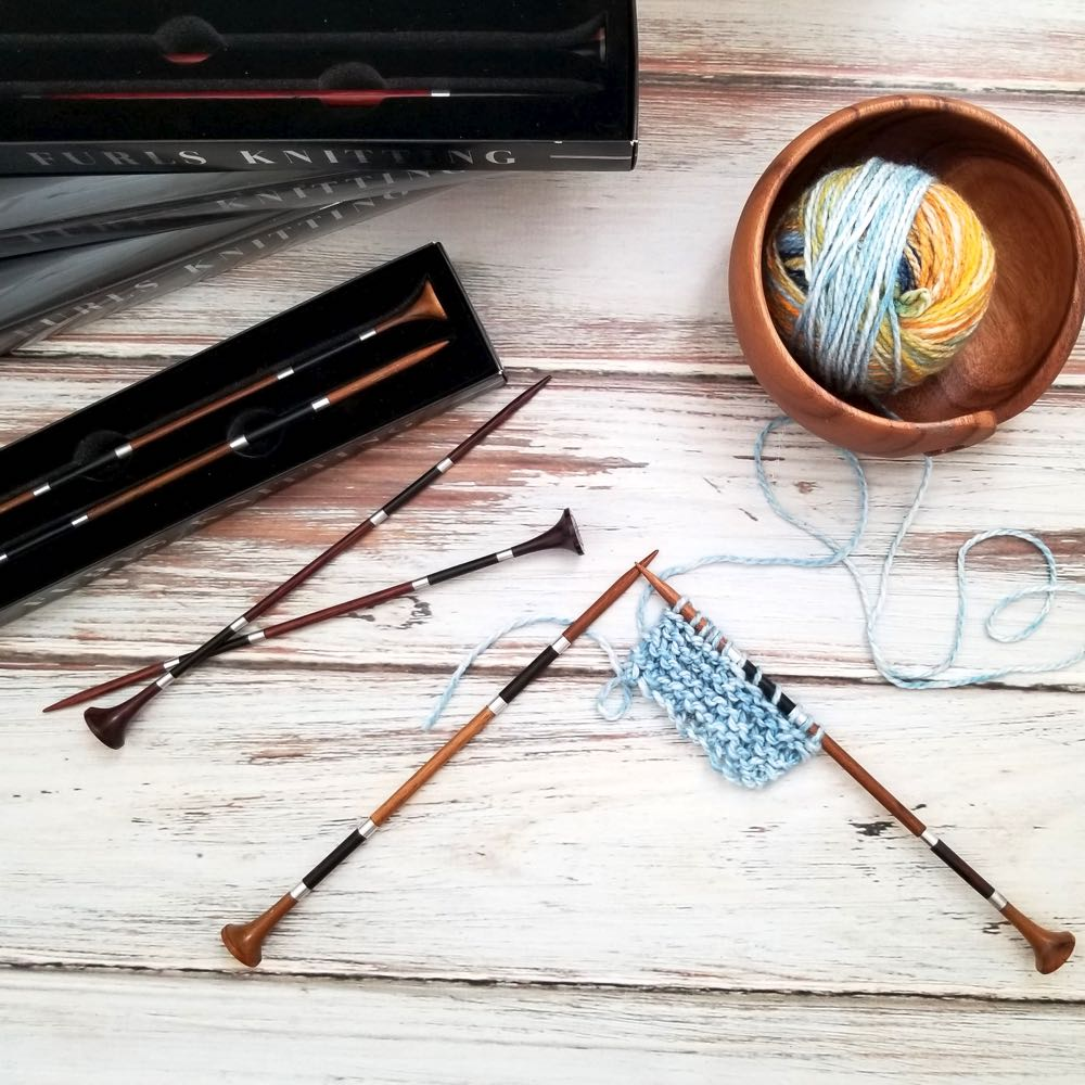 5mm wooden knitting needles