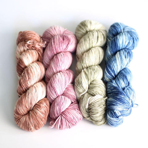 Whims Cascadia - Limited Edition Hand Dyed Crochet Yarn by Katy Petersen Yarn FurlsCrochet