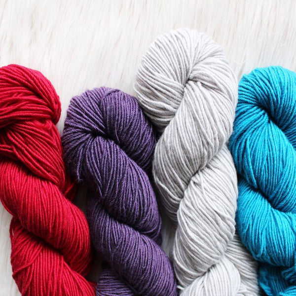 Whims Merino Crochet Yarn - Superwash Merino and Nylon