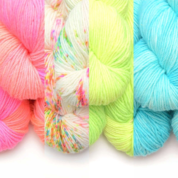 Whims Paradise - Limited Edition Hand Dyed Crochet Yarn by Becky Fetterley Yarn FurlsCrochet