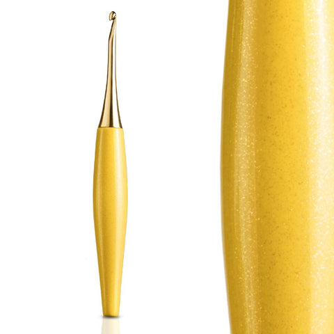 Odyssey Yellow & Gold Crochet Hook