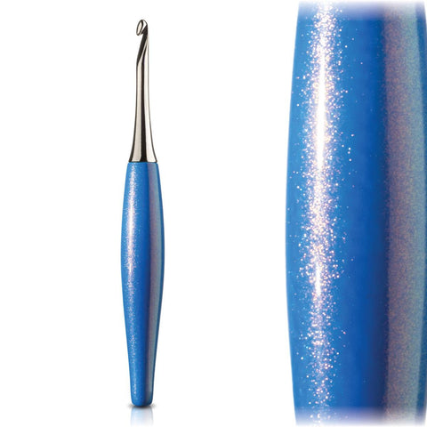 Odyssey Blue & Nickel Crochet Hook