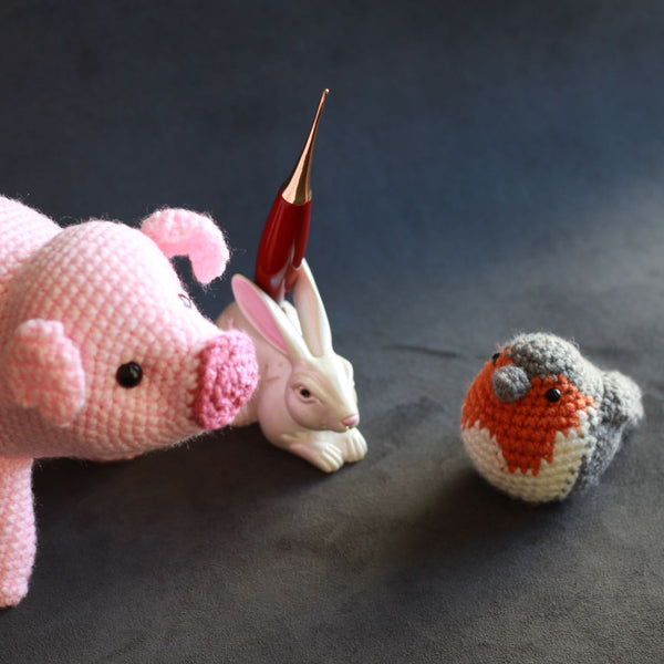Bunny - Single Crochet Hook Stand