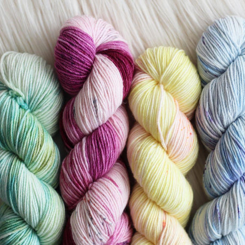 Hand Dyed Crochet Yarn - Whims Merino