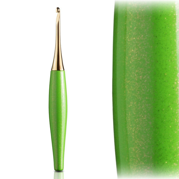 Odyssey Lime & Gold Crochet Hook