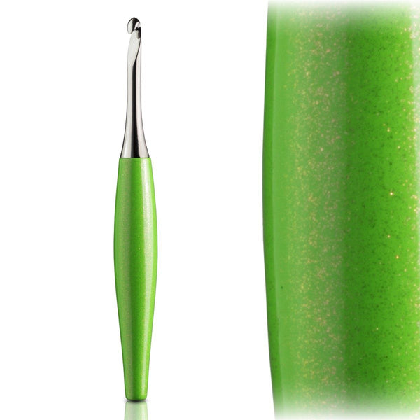 Odyssey Lime & Nickel Crochet Hook