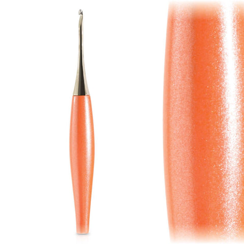 Furls Odyssey Peach + Nickel Crochet Hook