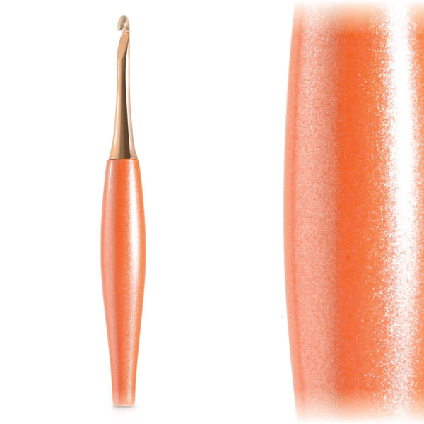 Furls Odyssey Peach + Rose Gold Crochet Hook