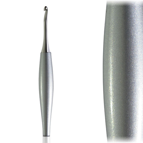 Odyssey Silver & Nickel Crochet Hook Crochet Hook FurlsCrochet 2.25mm - ( B )