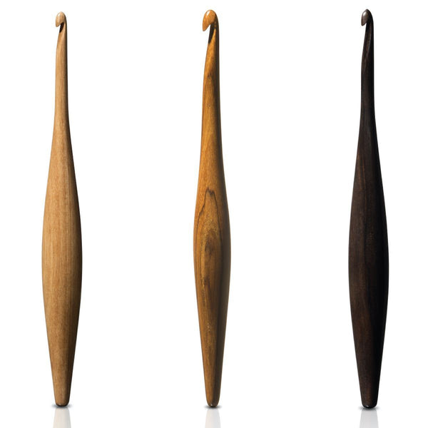 Streamline - Ergonomic Wooden Crochet hooks