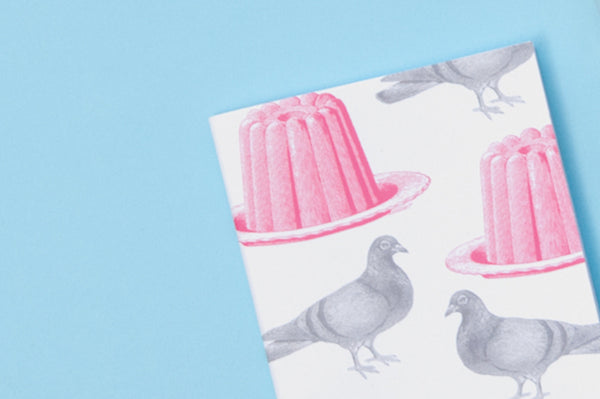 Pigeon and Jelly Notebook