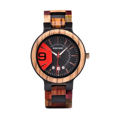 Montre en Bois Red Nine | French Hipster Officiel®