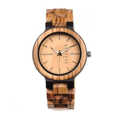 Montre en Bois The Week | French Hipster Officiel®