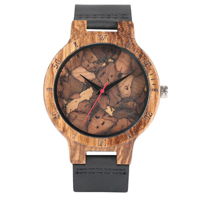 Montre en Bois Marbrée | French Hipster Officiel®