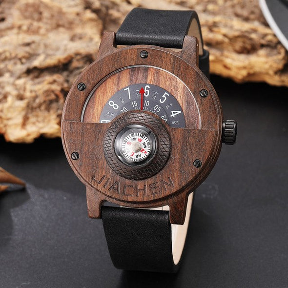 Montre en Bois Captain | French Hipster Officiel®
