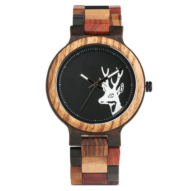 Montre en Bois Cerf | French Hipster Officiel®