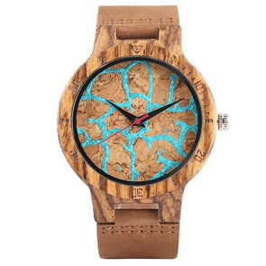 Montre en Bois Fragmentée | French Hipster Officiel®