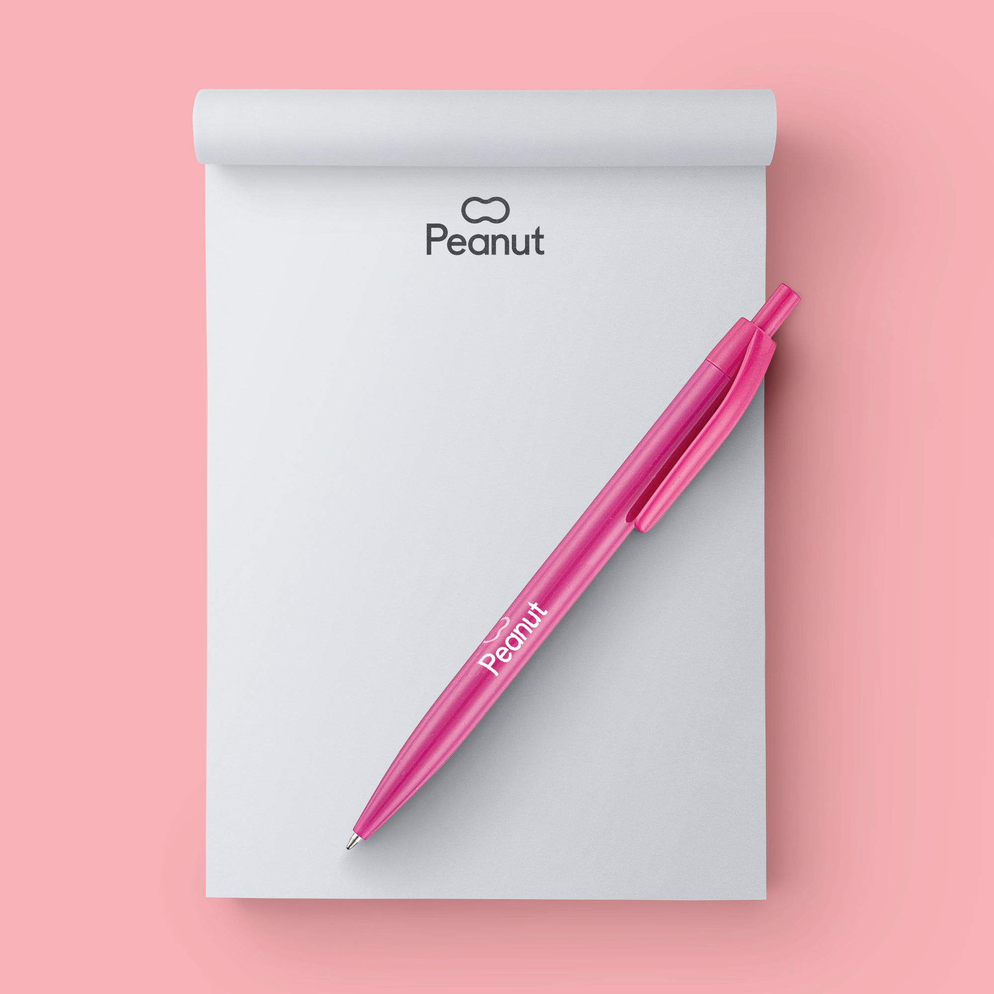 Peanut Notepad & Pen