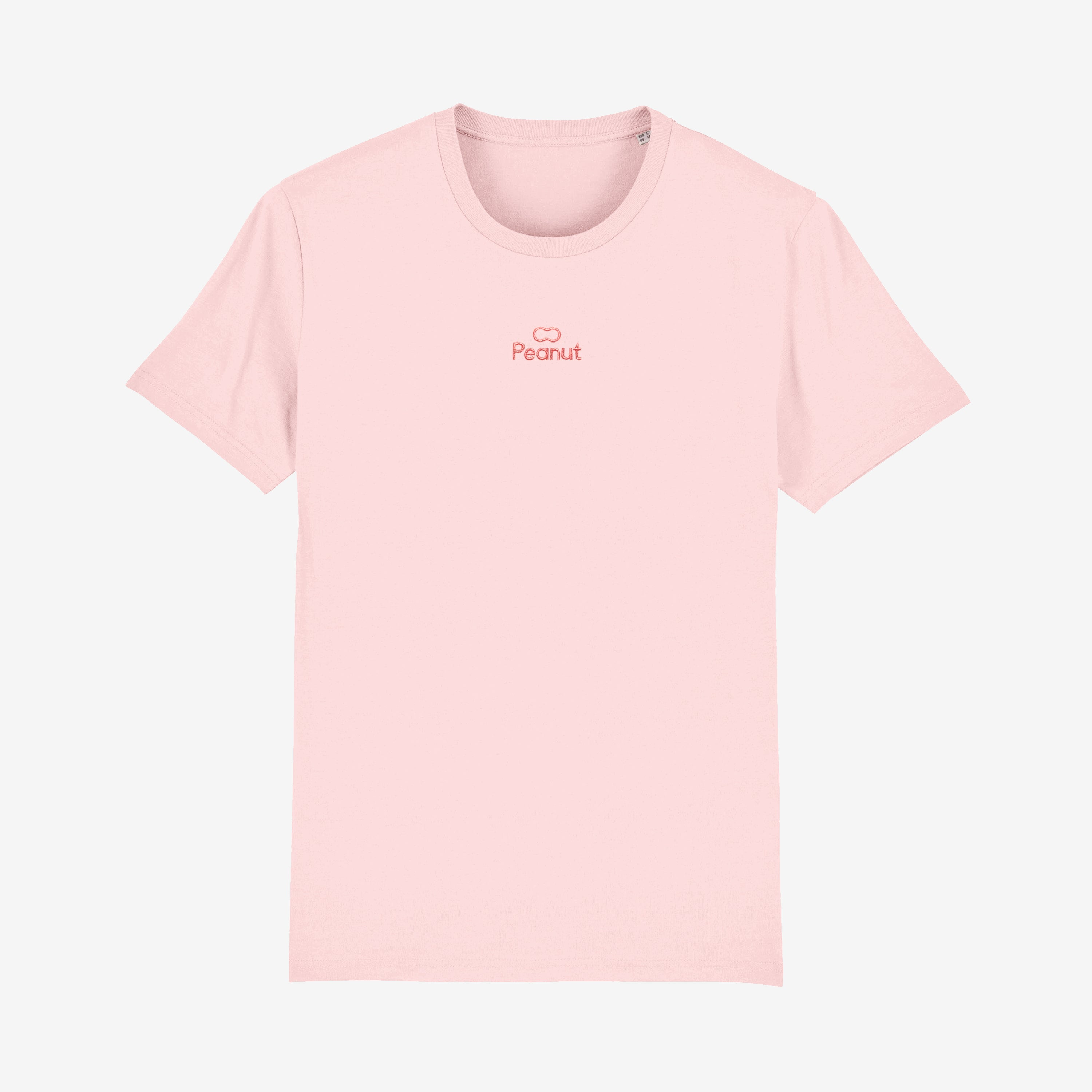 Embroidered Tee Pink