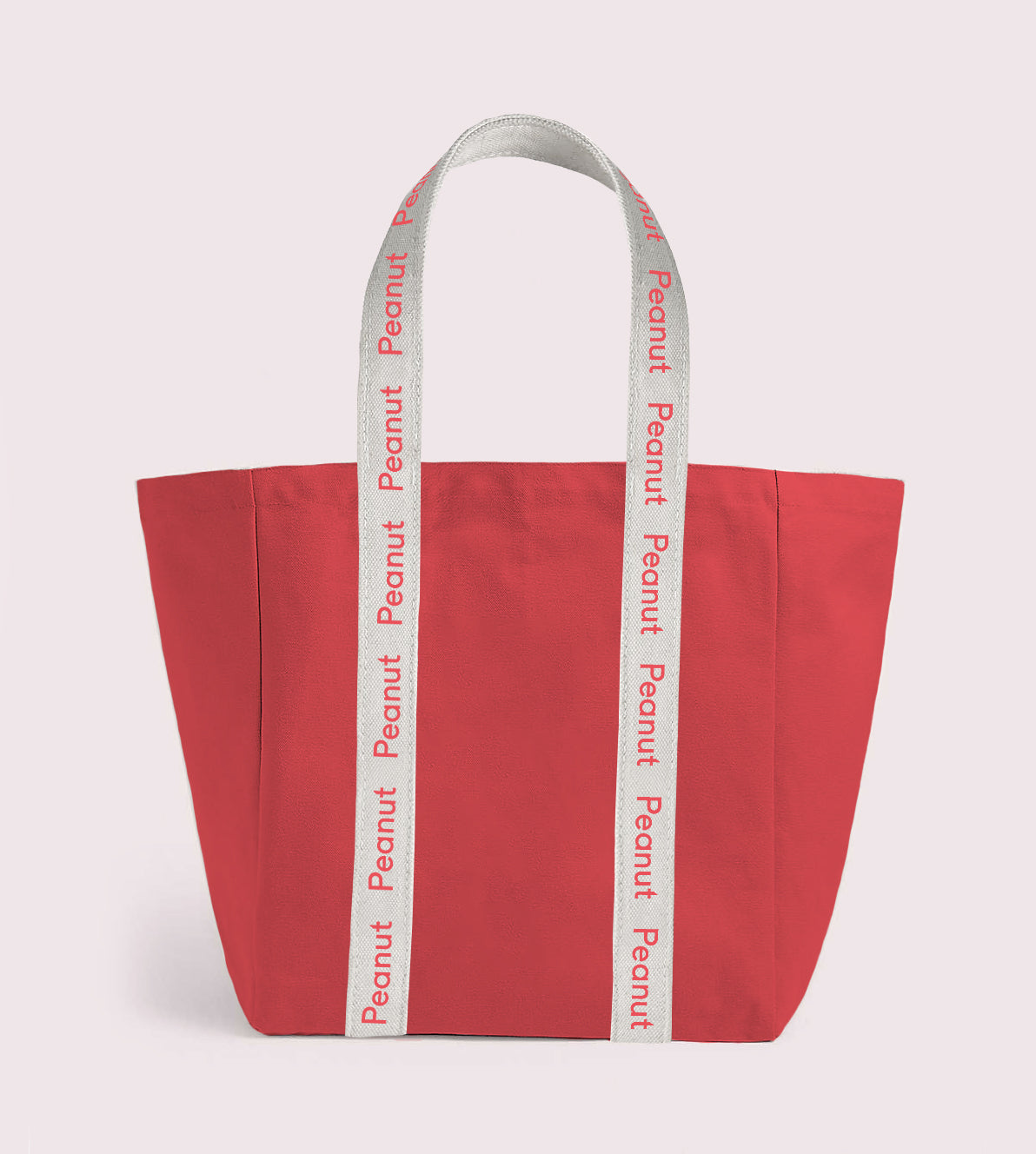 Canvas Tote Bag Red