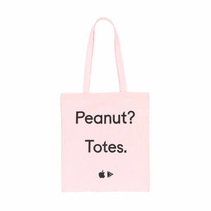 Cotton Tote Bag Pink