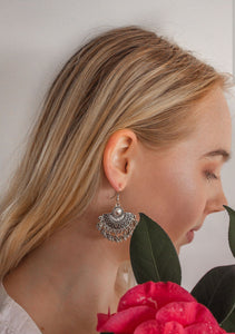 Boho Fan Earrings Marigold Lane New Zealand