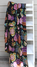 Load image into Gallery viewer, Black Tropicana Kantha Throw - King