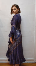 Load image into Gallery viewer, Blue Harbour Wrap around Silk Dress