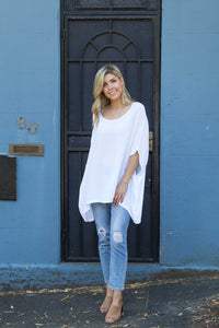 Boho Drape Top Marigold Lane Clothing