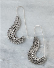 Load image into Gallery viewer, Engarved Hook Earrings Marigold Lane New Zealand