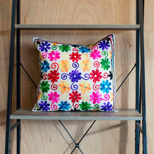 Flower Power Cushion Cover Marigold Lane New Zealand