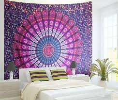 Purple Circles Mandala Throw Marigold Lane New Zealand