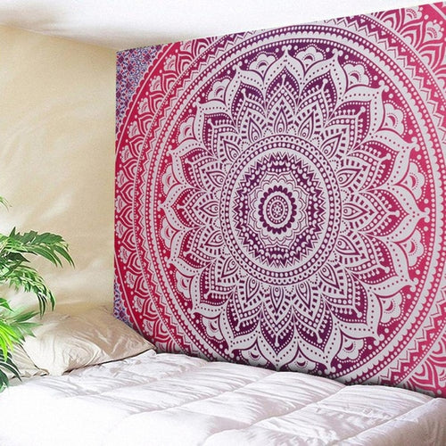 Purple Aztec Mandala Throw Marigold Lane New Zealand