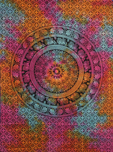 Chakra Mandala Multicolour Throw